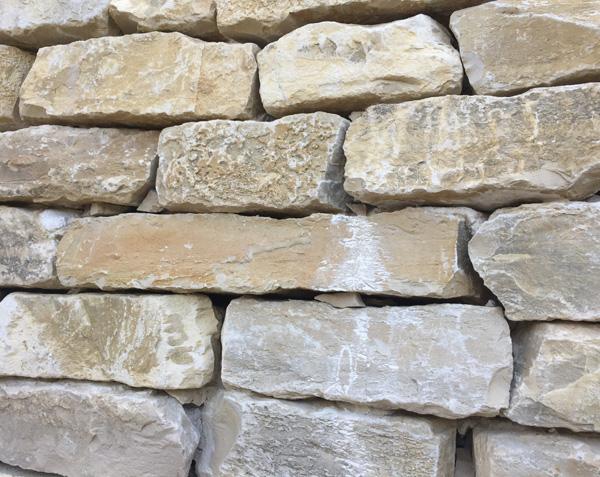 Moellons en pierre - Pierres de l'Yonne garanties non gélives