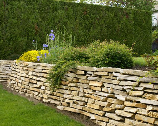 Mur - Muret en pierre naturelle