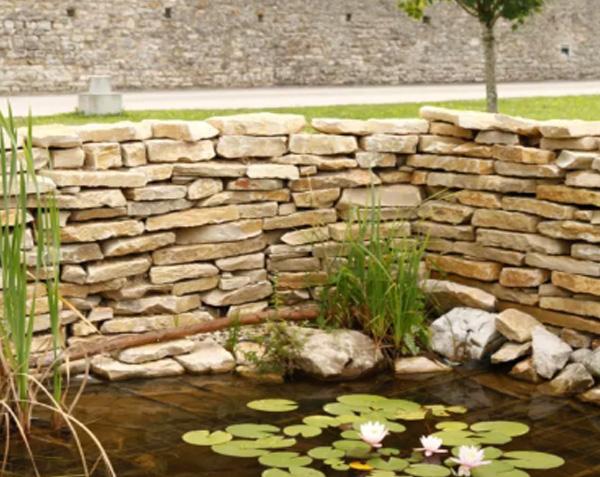 Mureuse de bourgogne - pierre à muret et moellon
