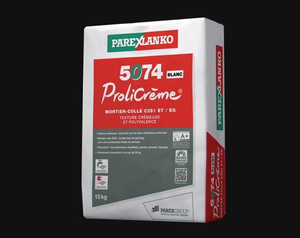 Parexlanko Prolicrème - Colle pour plancher chauffant