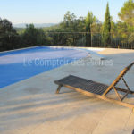 Pool coping stones Lanvignes Burgundy limestone Thickness 4 cm