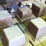 Processing Burgundy limestone