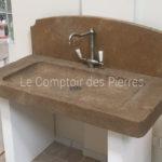 Showroom Carrières-sur-Seine (78) Evier en pierre Sénanque Lanvignes Antiquaire
