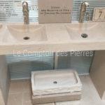 Showroom Carrières-sur-Seine (78) Vasque Goult Double Charmot Clair Adouci
