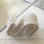 Table legs in natural stone from Burgundy