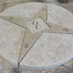 Rosace en pierre naturelle Lanvignes et Semond