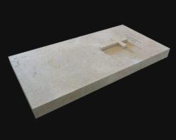 Tombstone in natural stone - Lanvignes