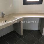 Plan vasque en pierre de Charmot Clair Adouci