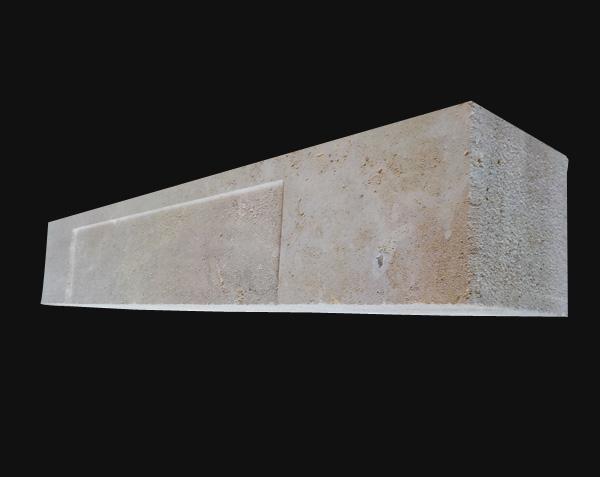 Linteau en pierre de taille