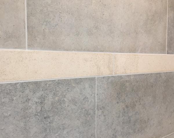 Listel en pierre - Salle de bain