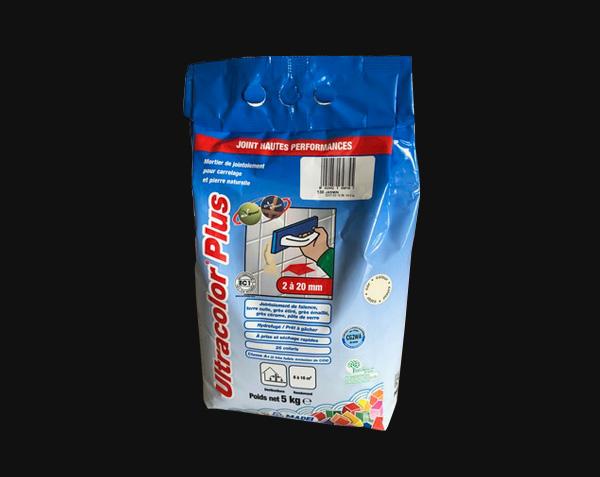 Mortier joint pour pierre naturelle - Mapei Ultracolor Plus Jasmin