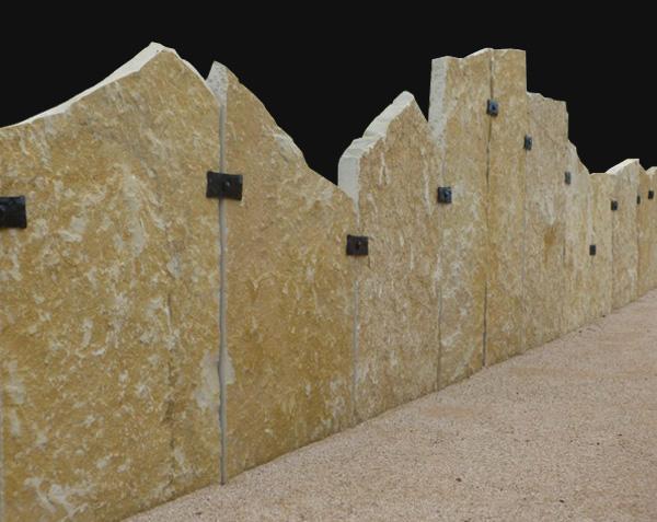 Palis en pierre naturelle