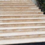 Rénovation d'escalier en pierre intérieur