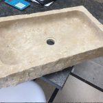 Lavabo Brut en pierre