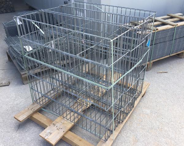 Cage à gabion