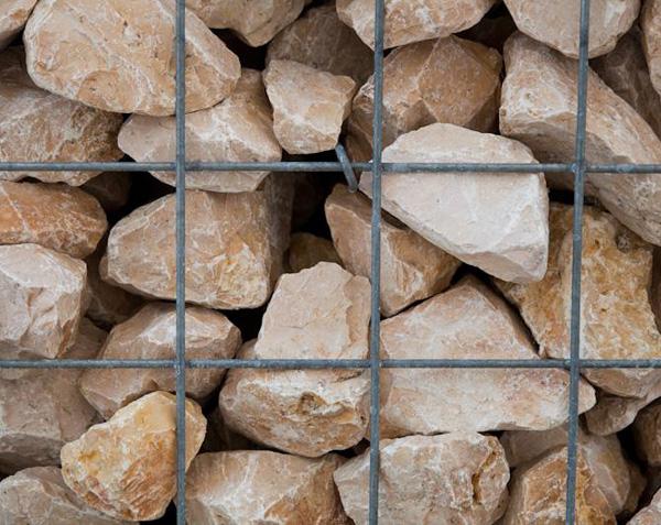 Pierre pour gabion - Calcaire de Comblanchien