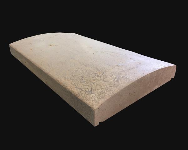 Couvertine Muret en pierre naturelle